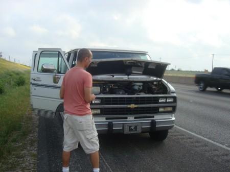 brokendownvan