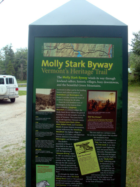 Molly Stark trail