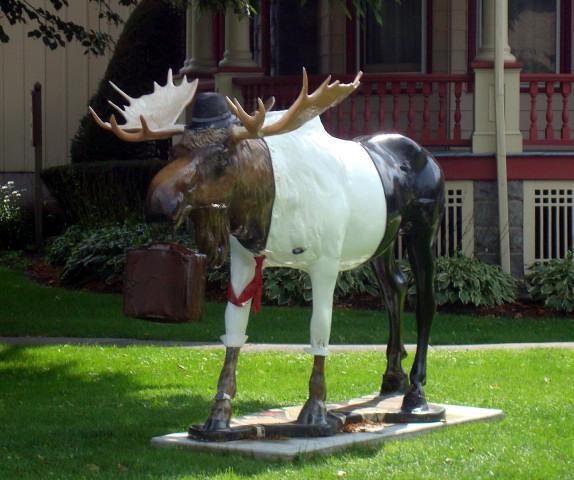 vermont moose statue